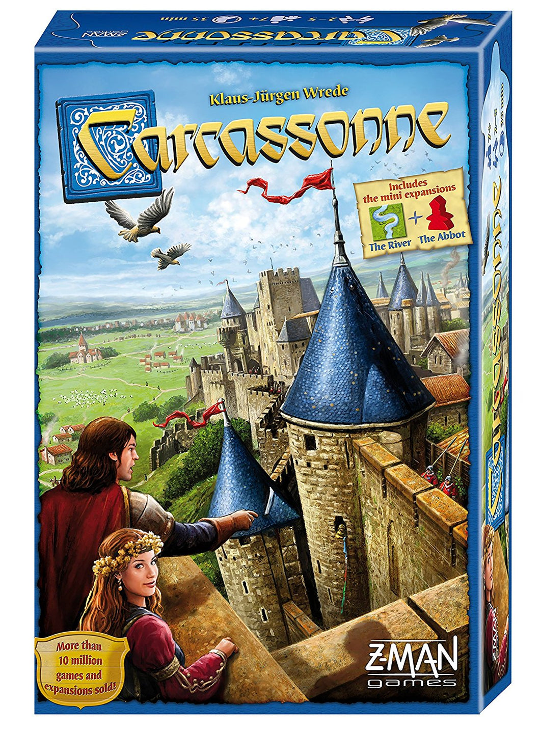 Carcassonne - Basic Game - Indigo Chase Specialties Board Games Yarn Alaska Anchorage Knitting