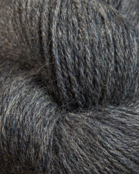 Jagger Spun - Heather - Worsted Yarn - Charcoal - Indigo Chase Specialties