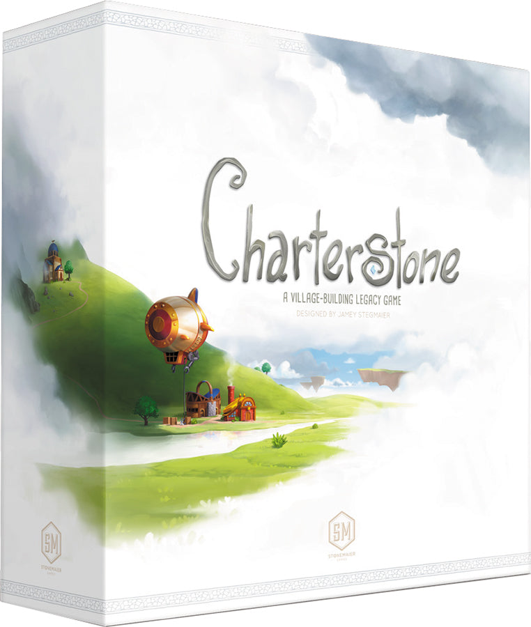 Charterstone: A Village-Building Legacy Game - Indigo Chase Specialties Board Games Yarn Alaska Anchorage Knitting