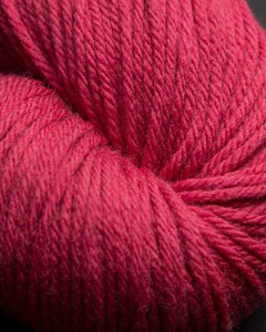 Jagger Spun - Super Lamb - Worsted Yarn - Cranberry - Indigo Chase Specialties