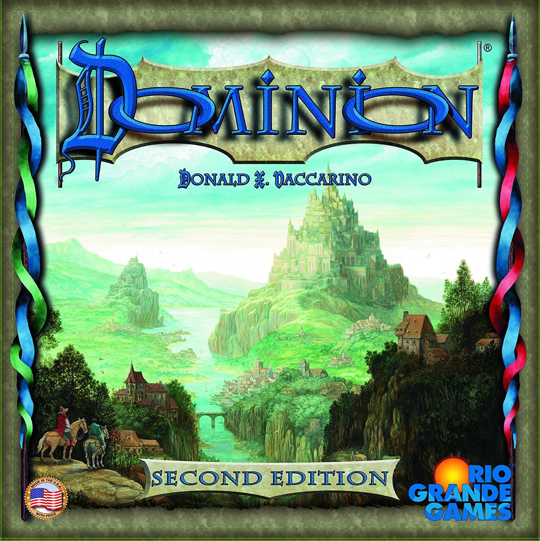 Dominion - Second Edition - Indigo Chase Specialties Board Games Yarn Alaska Anchorage Knitting