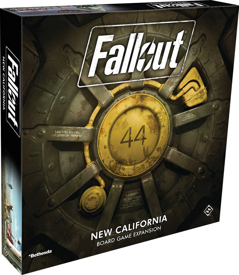 Fallout: The Board Game - New California Expansion - Indigo Chase Specialties