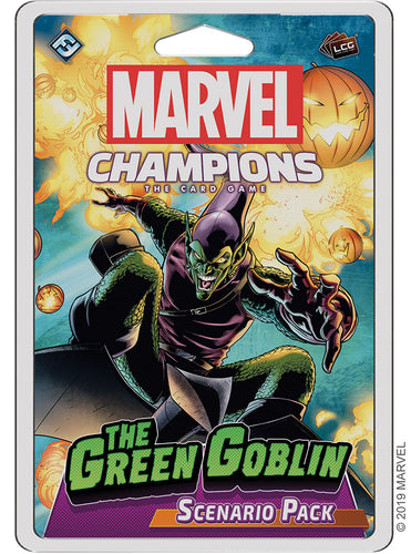 Marvel Champions LCG: The Green Goblin Scenario Pack - Indigo Chase Specialties