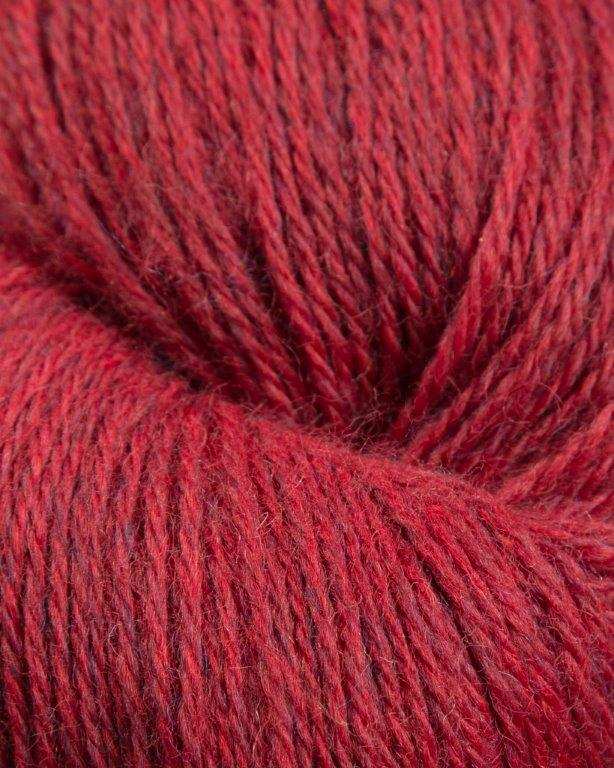Jagger Spun - Heather - Worsted Yarn - Hollyberry - Indigo Chase Specialties
