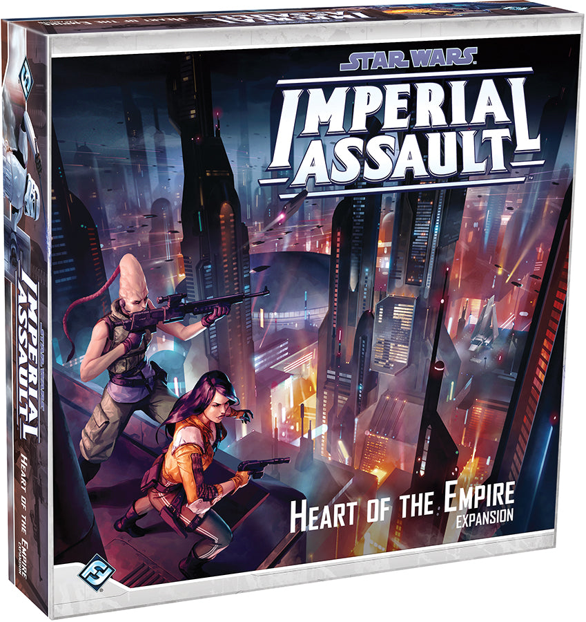 Star Wars Imperial Assault: Heart of the Empire Campaign Expansion - Indigo Chase Specialties