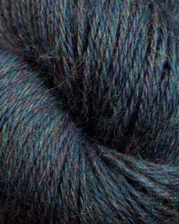 Jagger Spun - Heather - Worsted Yarn - Indigo