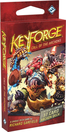 KeyForge: Call of the Archons - Archon Deck - Indigo Chase Specialties