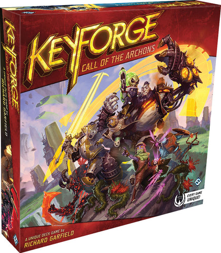 KeyForge: Call of the Archons - Starter Set - Indigo Chase Specialties