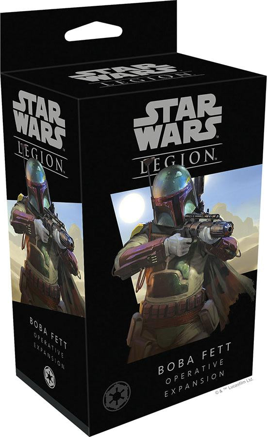 Star Wars: Legion - Boba Fett Operative Expansion - Indigo Chase Specialties