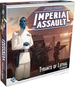 Star Wars Imperial Assault: Tyrants of Lothal Expansion - Indigo Chase Specialties