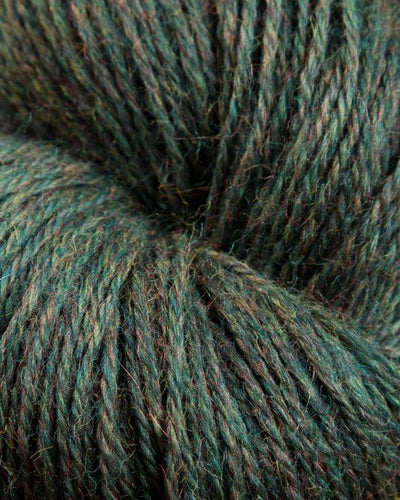 Jagger Spun - Heather - Worsted Yarn - Moss - Indigo Chase Specialties