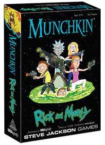 Munchkin: Rick and Morty - Indigo Chase Specialties