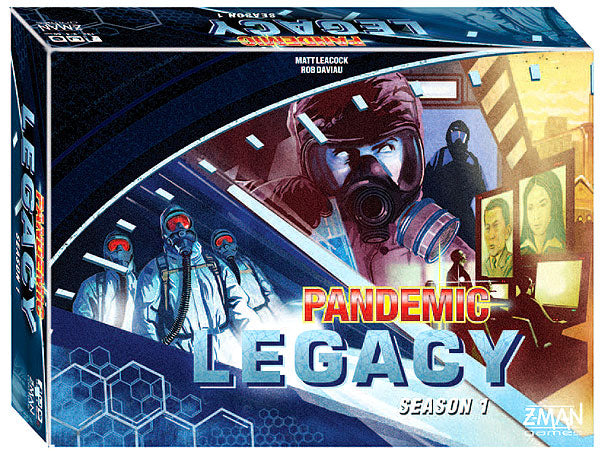 Pandemic: Legacy Season 1 - Blue (stand alone) - Indigo Chase Specialties