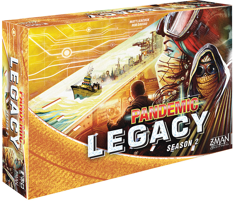 Pandemic: Legacy Season 2 - Yellow (stand alone) - Indigo Chase Specialties