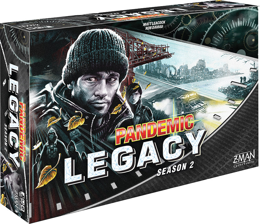 Pandemic: Legacy Season 2 - Black (stand alone) - Indigo Chase Specialties Board Games Yarn Alaska Anchorage Knitting