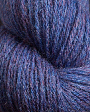 Jagger Spun - Heather - Worsted Yarn - Periwinkle
