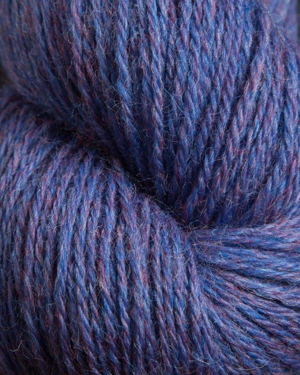 Jagger Spun - Heather - Worsted Yarn - Periwinkle - Indigo Chase Specialties