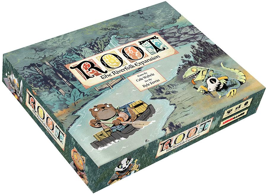 Root: The Riverfolk Expansion - Indigo Chase Specialties