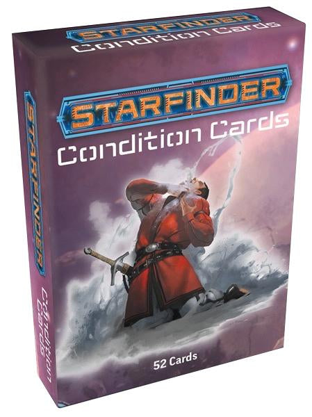 Starfinder RPG: Condition Cards - Indigo Chase Specialties