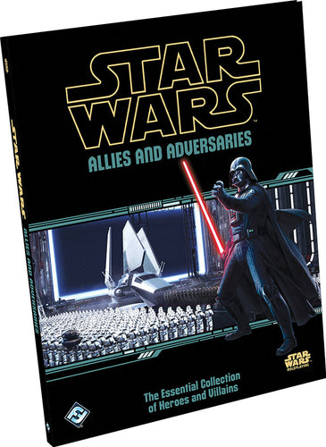 Star Wars RPG: Allies and Adversaries Hardcover - Indigo Chase Specialties