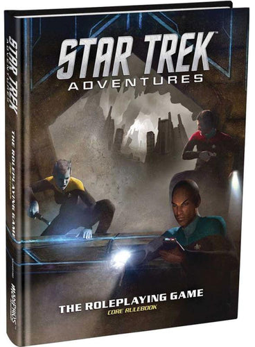 Star Trek Adventures RPG: Core Rulebook - Indigo Chase Specialties