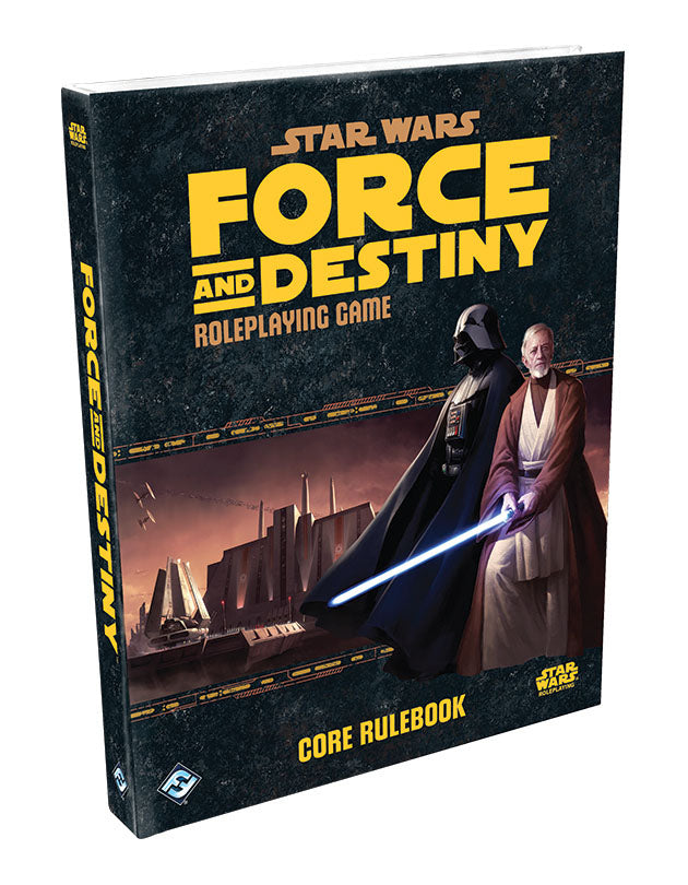 Star Wars RPG: Force and Destiny - Core Rulebook Hardcover - Indigo Chase Specialties