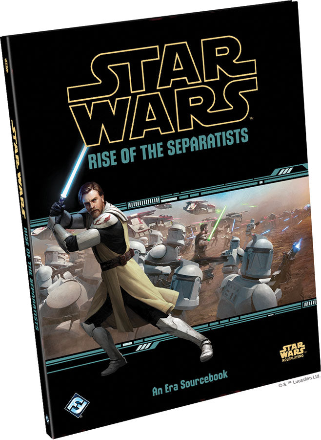 Star Wars RPG: Rise of the Separatists Hardcover - Indigo Chase Specialties
