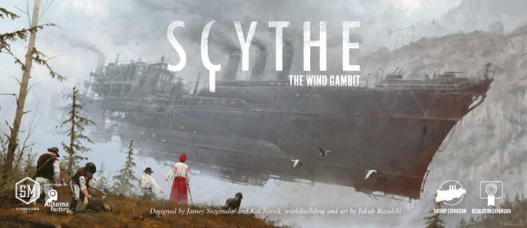 Scythe: The Wind Gambit - Indigo Chase Specialties