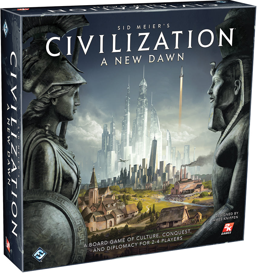 Civilization: A New Dawn - Indigo Chase Specialties Board Games Yarn Alaska Anchorage Knitting