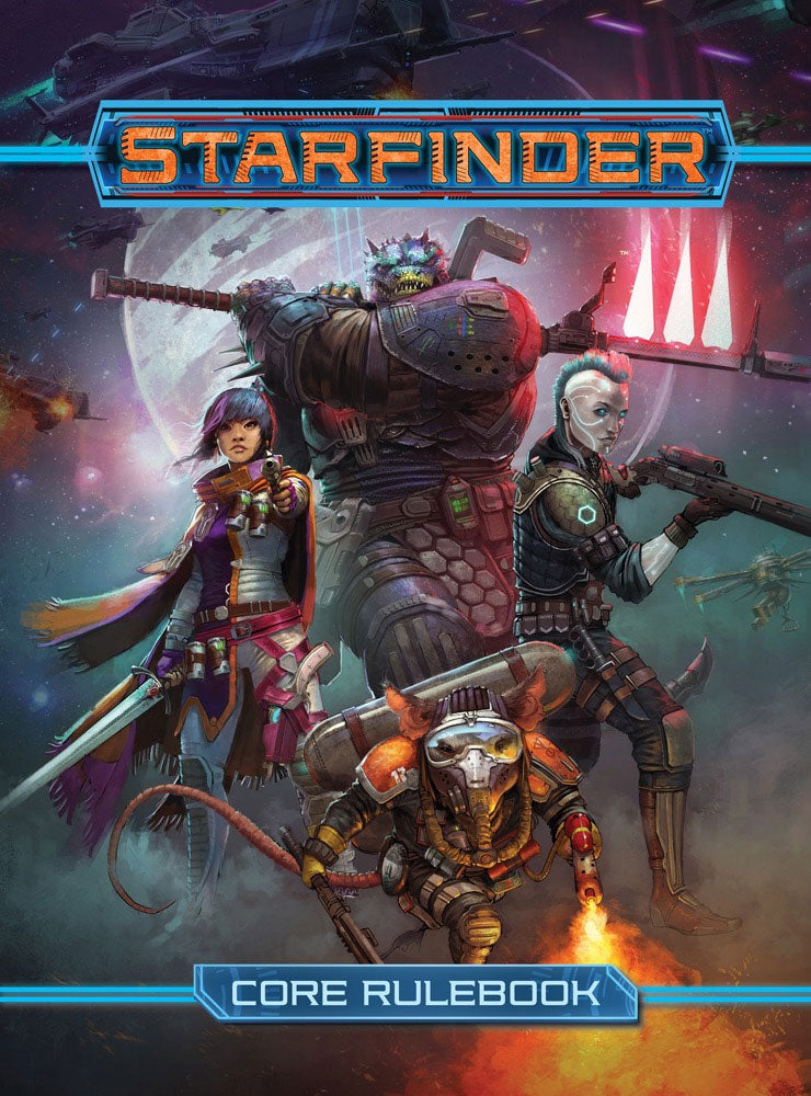 Starfinder RPG: Core Rulebook Hardcover - Indigo Chase Specialties