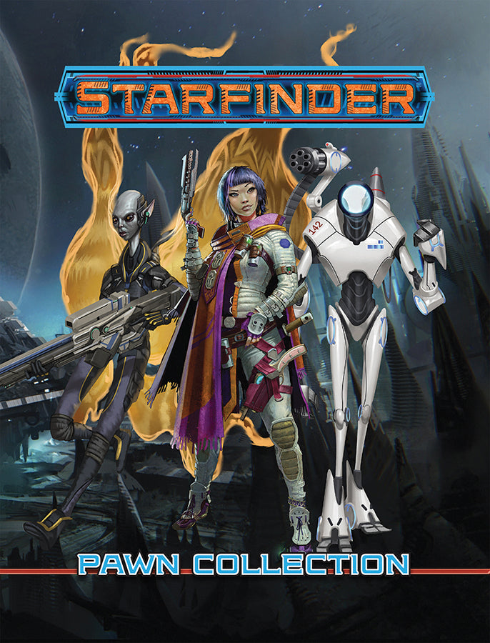 Starfinder RPG: Pawns - Core Pawn Collection - Indigo Chase Specialties