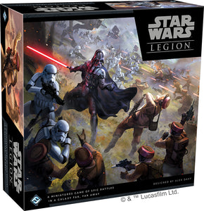 Star Wars: Legion - Core Set - Indigo Chase Specialties Board Games Yarn Alaska Anchorage Knitting