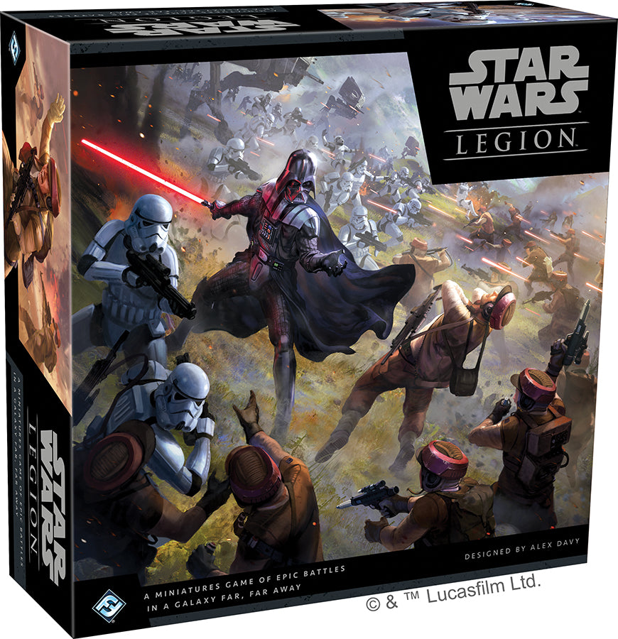 Star Wars: Legion - Core Set - Indigo Chase Specialties