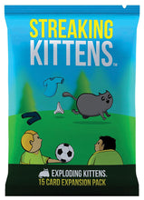 Exploding Kittens: Streaking Kittens Expansion - Indigo Chase Specialties