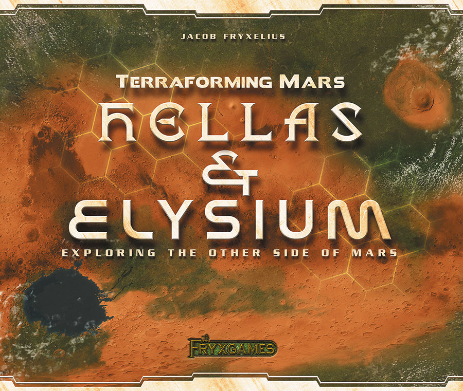 Terraforming Mars: Hellas and Elysium Expansion - Indigo Chase Specialties