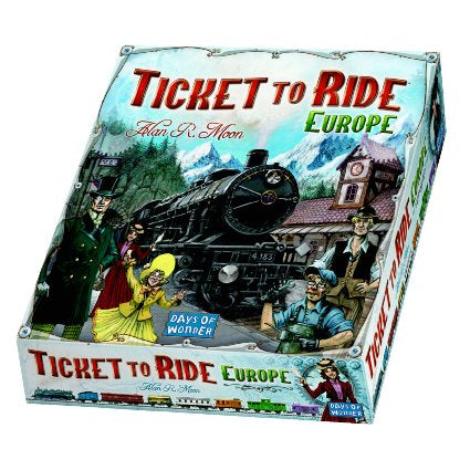 Ticket To Ride: Europe - Indigo Chase Specialties Board Games Yarn Alaska Anchorage Knitting