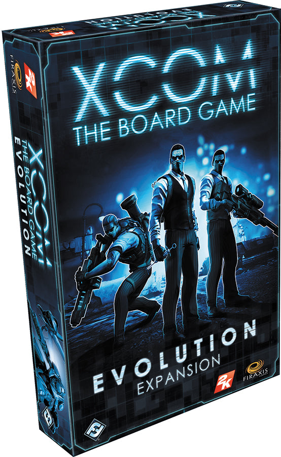 XCOM: The Board Game - Evolution Expansion - Indigo Chase Specialties