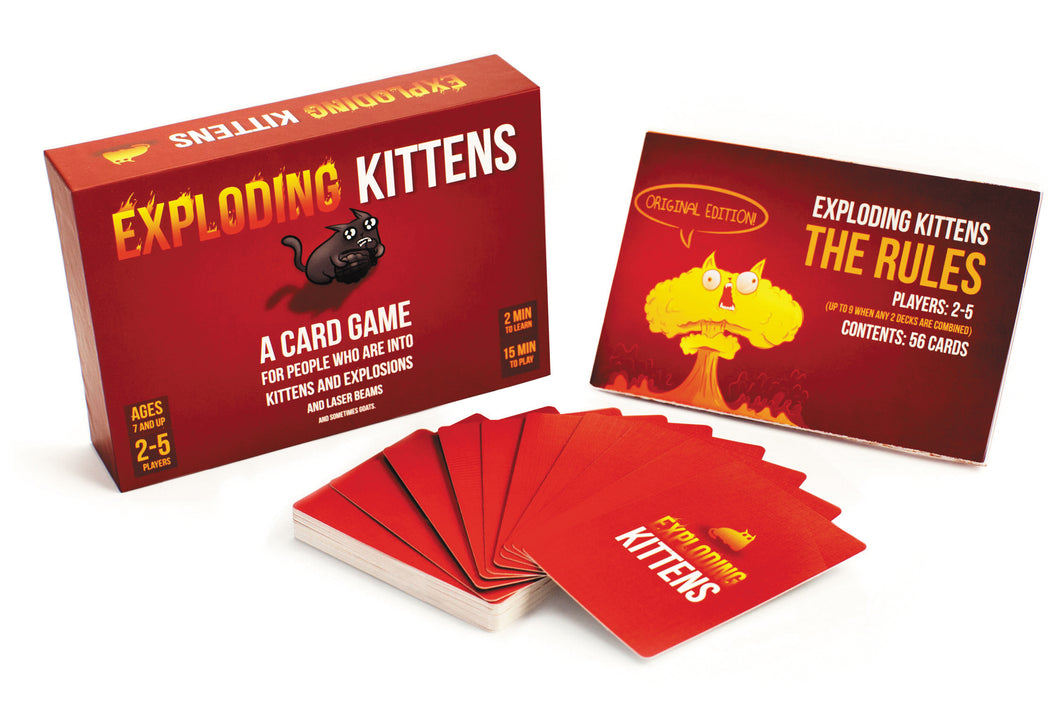 Exploding Kittens Original Edition - Indigo Chase Specialties