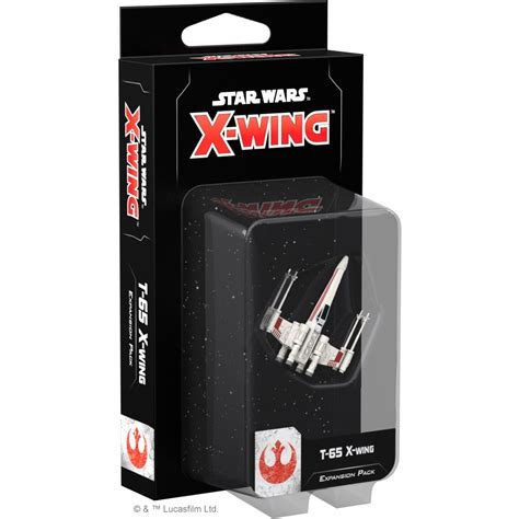 Star Wars X-Wing 2nd Edition: T-65 X-Wing Expansion Pack - Indigo Chase Specialties
