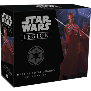 Star Wars: Legion - Imperial Royal Guards Unit Expansion - Indigo Chase Specialties