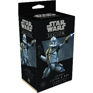 Star Wars: Legion - Clone Captain Rex Commander Expansion - Indigo Chase Specialties