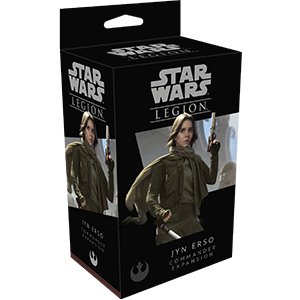 Star Wars: Legion - Jyn Erso Commander Expansion - Indigo Chase Specialties