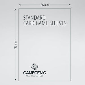 PRIME Standard Card Game Sleeves 66 x 91 mm - Indigo Chase Specialties