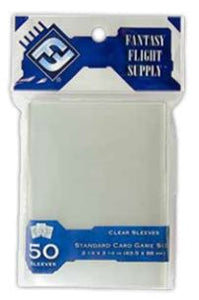 Standard Card Game Sleeves (50) (Gray) - Indigo Chase Specialties