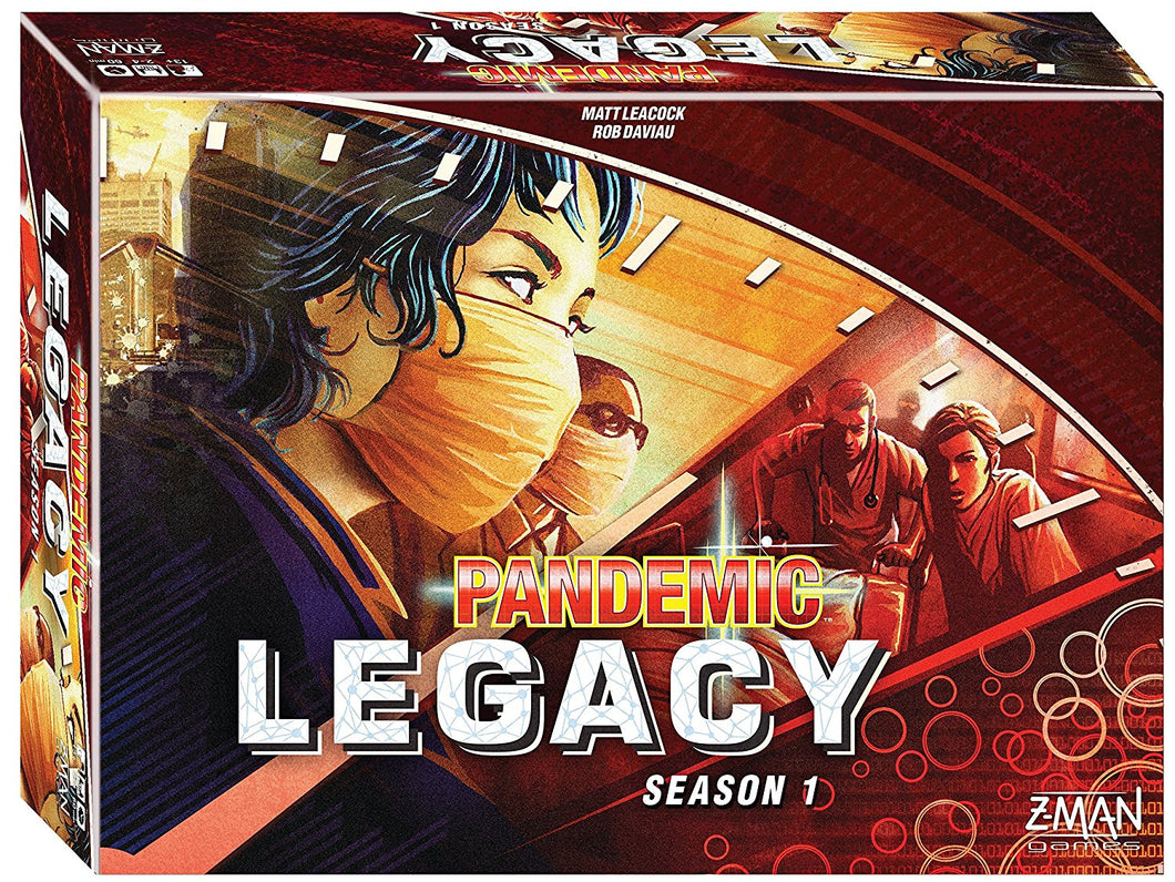 Pandemic: Legacy Season 1 - Red (stand alone) - Indigo Chase Specialties Board Games Yarn Alaska Anchorage Knitting