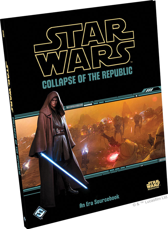 Star Wars RPG: Collapse of the Republic Hardcover - Indigo Chase Specialties