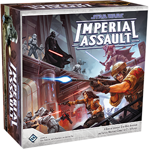 Star Wars Imperial Assault Board Game - Indigo Chase Specialties