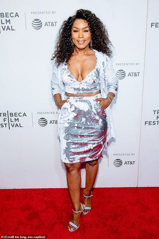 Angela Bassett Wears Cavanagh Baker at Tribeca Film Festival