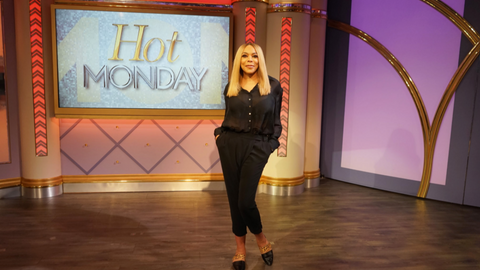 Wendy Williams Wears Cavanagh Baker on the Wendy Show