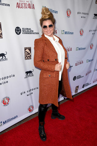 Shania Twain wears Cavanagh Baker coco Jacket on the red carpet